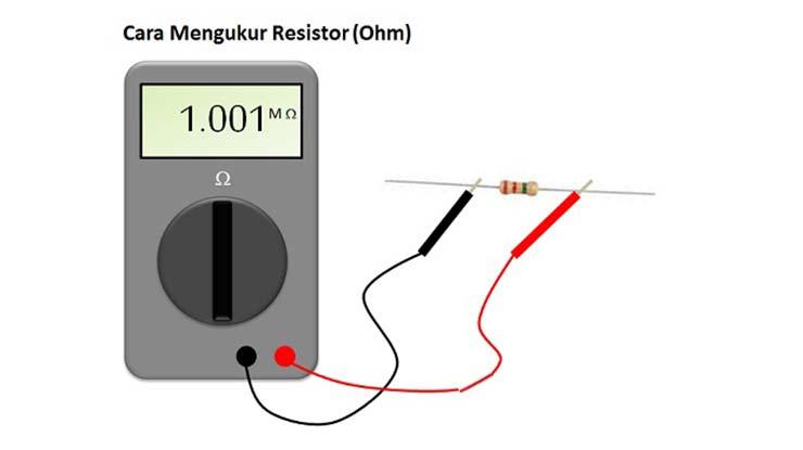 Cara Menggunakan Multimeter untuk Mengukur Resistor
