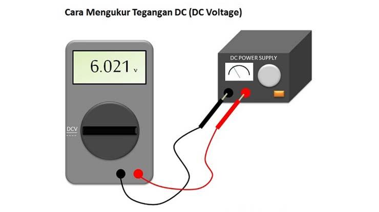 Cara Menggunakan Multimeter untuk Mengukur Tegangan DC