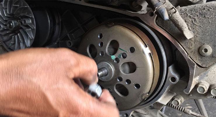 Cara Kerja Kopling Ganda Motor Matic