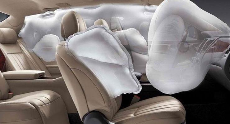 Bagian bagian Airbag Mobil