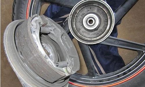 Komponen Utama Rem Tromol Motor