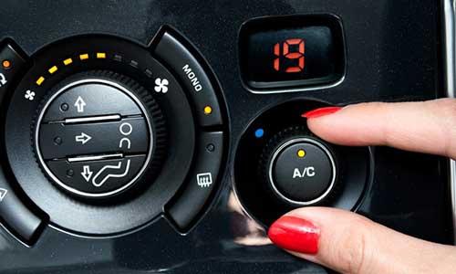 Menghidupkan AC Mobil