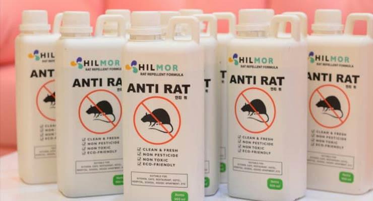 Gunakan Cairan Pengusir Tikus