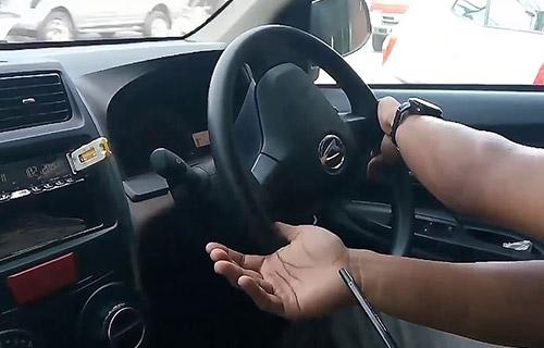 Penentu Radius Putaran Mobil