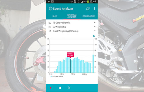 Sound Analyzer App