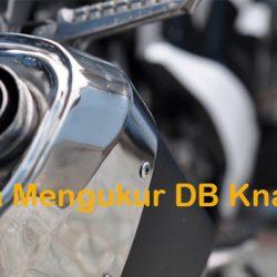 ara Mengukur DB Knalpot Menggunakan Aplikasi
