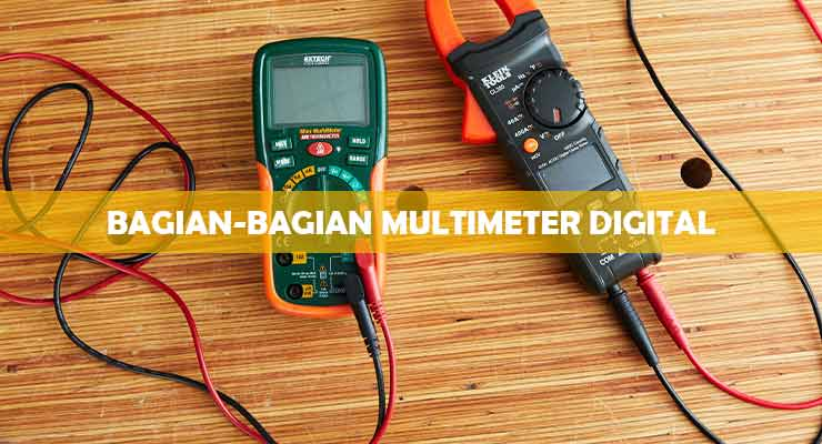 Bagian Bagian Multimeter Digital