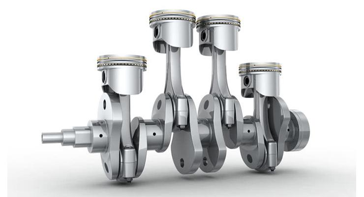 Batang Penggerak Piston Komponen Mesin Mobil