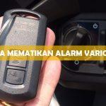 Cara Mematikan Alarm Vario 150