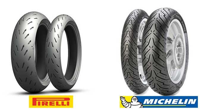 Kelebihan dan Kekurangan Ban Motor Micellin VS Pirelli