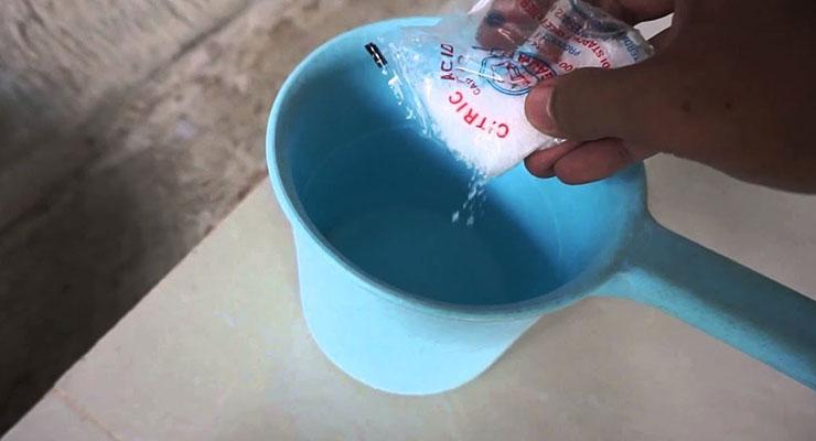 Membersihkan Blok Mesin Menggunakan Sitrun