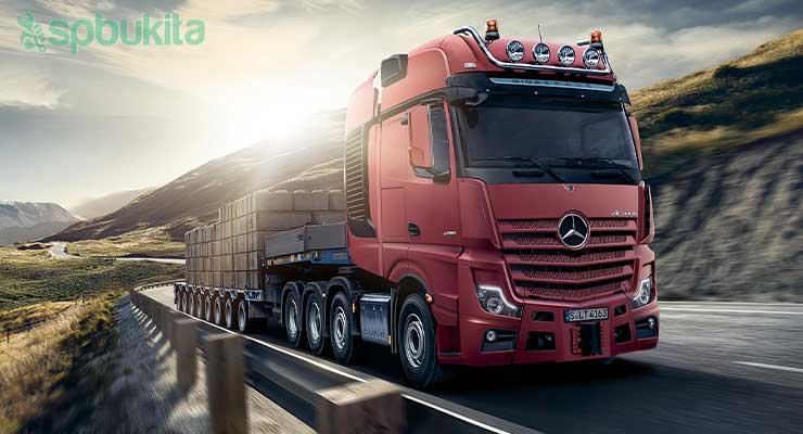 Mercedes Benz Actros SLT