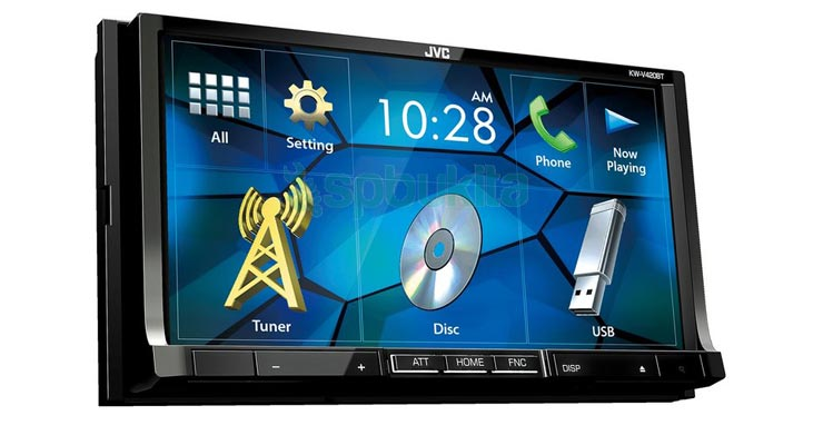 TV Mobil JVC