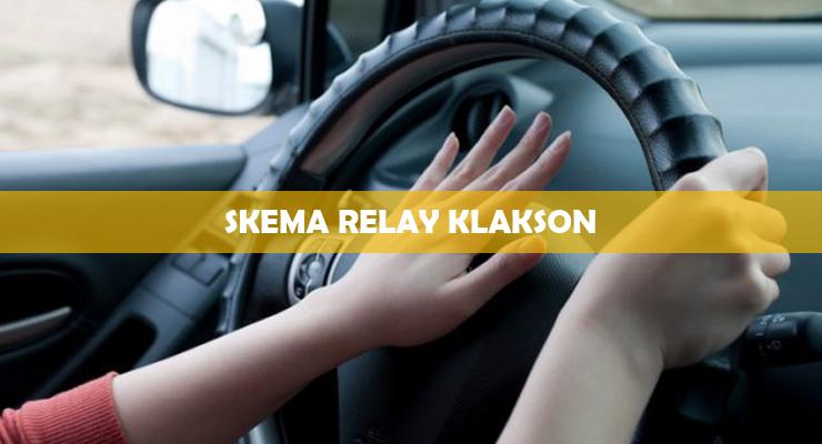 Skema Relay Klakson