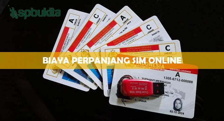 Biaya Perpanjang SIM Online.