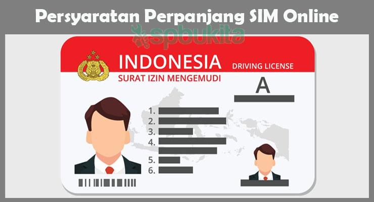 Persyaratan Perpanjang SIM Online