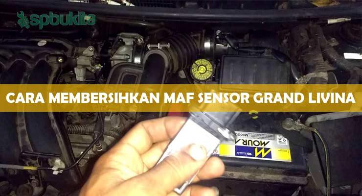 Cara Membersihkan MAF Sensor Grand Livina.